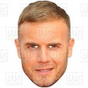 GARY BARLOW : Life-size Card Face Mask