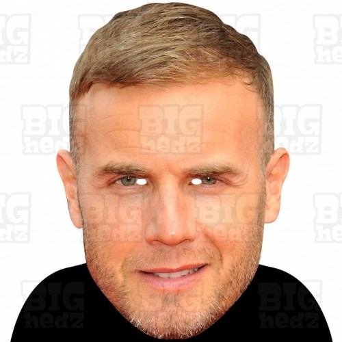GARY BARLOW : BIG A3 Size Card Face Mask