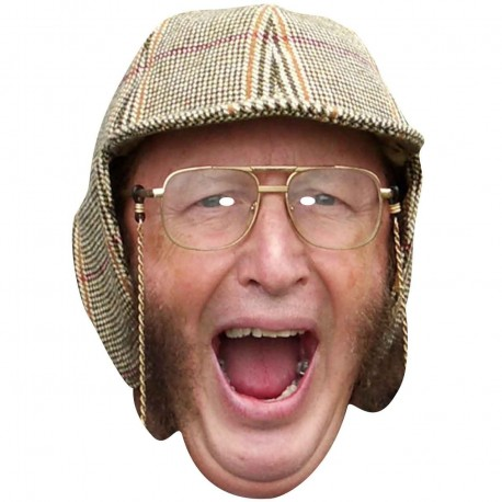 JOHN McCRIRICK : Life-size Card Face Mask