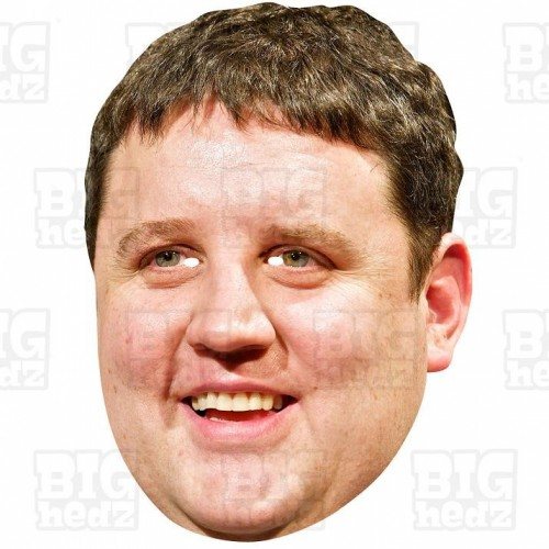 PETER KAY : Life-size Card Face Mask