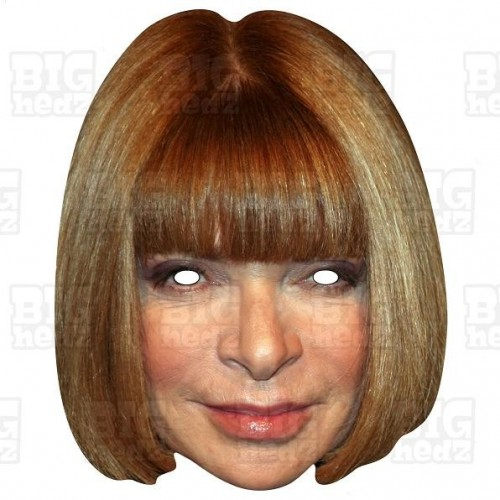 ANNA WINTOUR : Life-size Face Mask