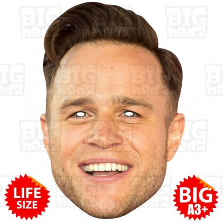 OLLY MURS : Life-size Face Mask