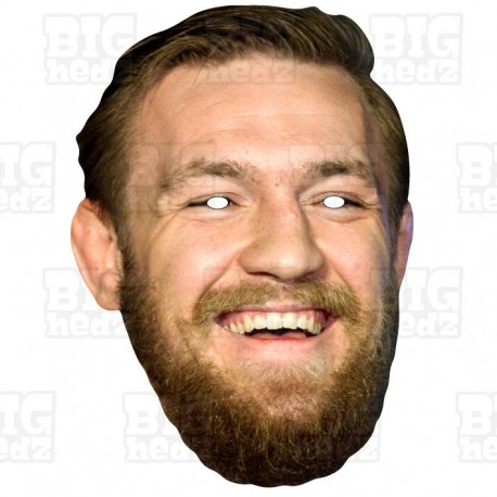 Conor McGregor : Life-size Card Face Mask