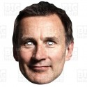 JEREMY HUNT : Life-size Card Face Mask