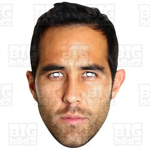 CLAUDIO BRAVO : Life-size Face Mask