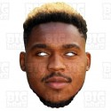 Britt Assombalonga : Life-size Card Face Mask Middlesbrough Striker