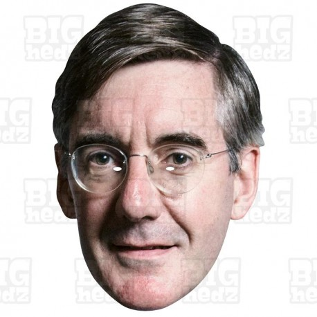 JACOB REES-MOGG : BIG A3 Size Card Face Mask