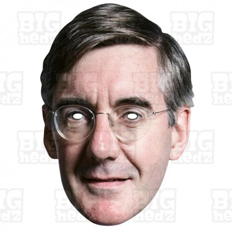 Jacob Rees-Mogg : Life-size Card Face Mask