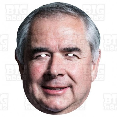 GEOFFREY COX : Life-size Card Face Mask, BREXIT