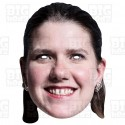 Jo Swinson : Life-size Card Face Mask Liberal Democrat General Election Remain European Union