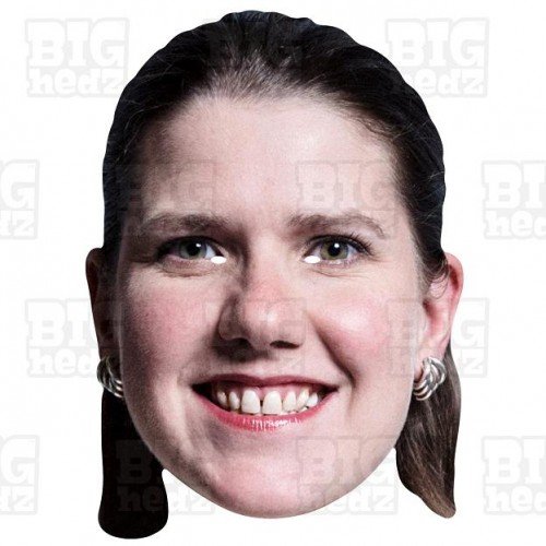 JO SWINSON : A3 Size Face Mask