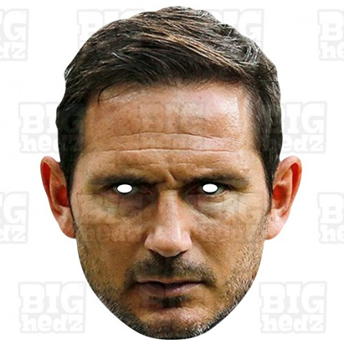FRANK LAMPARD : Life-size Face Mask