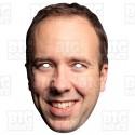 Matt Hancock : Life-size Card Face Mask NHS Covid-19