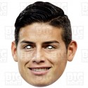 JAMES RODRIGUEZ : Football Striker Midfielder Everton and Columbia Card Face Mask