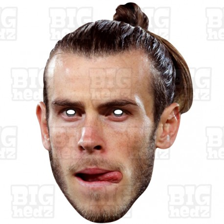 GARETH BALE Footballer of Tottenham Hotspur and Wales, Card Face Mask