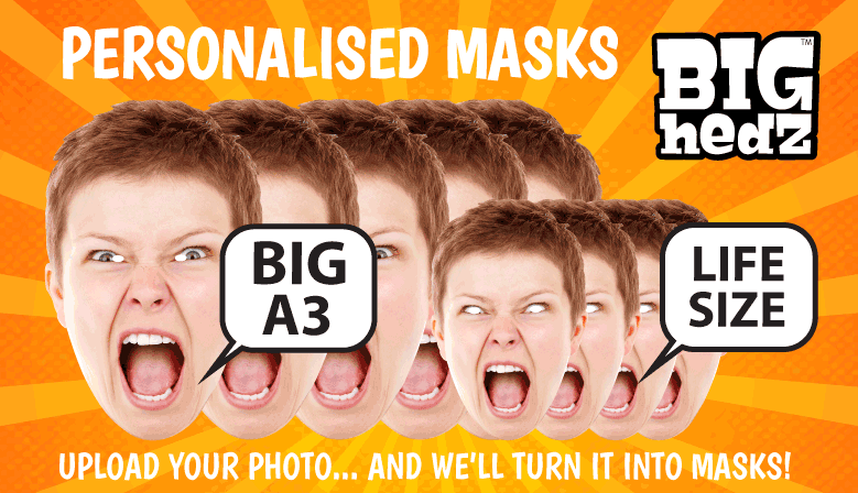 FACE IT... YOUR PARTY NEEDS MASKS!